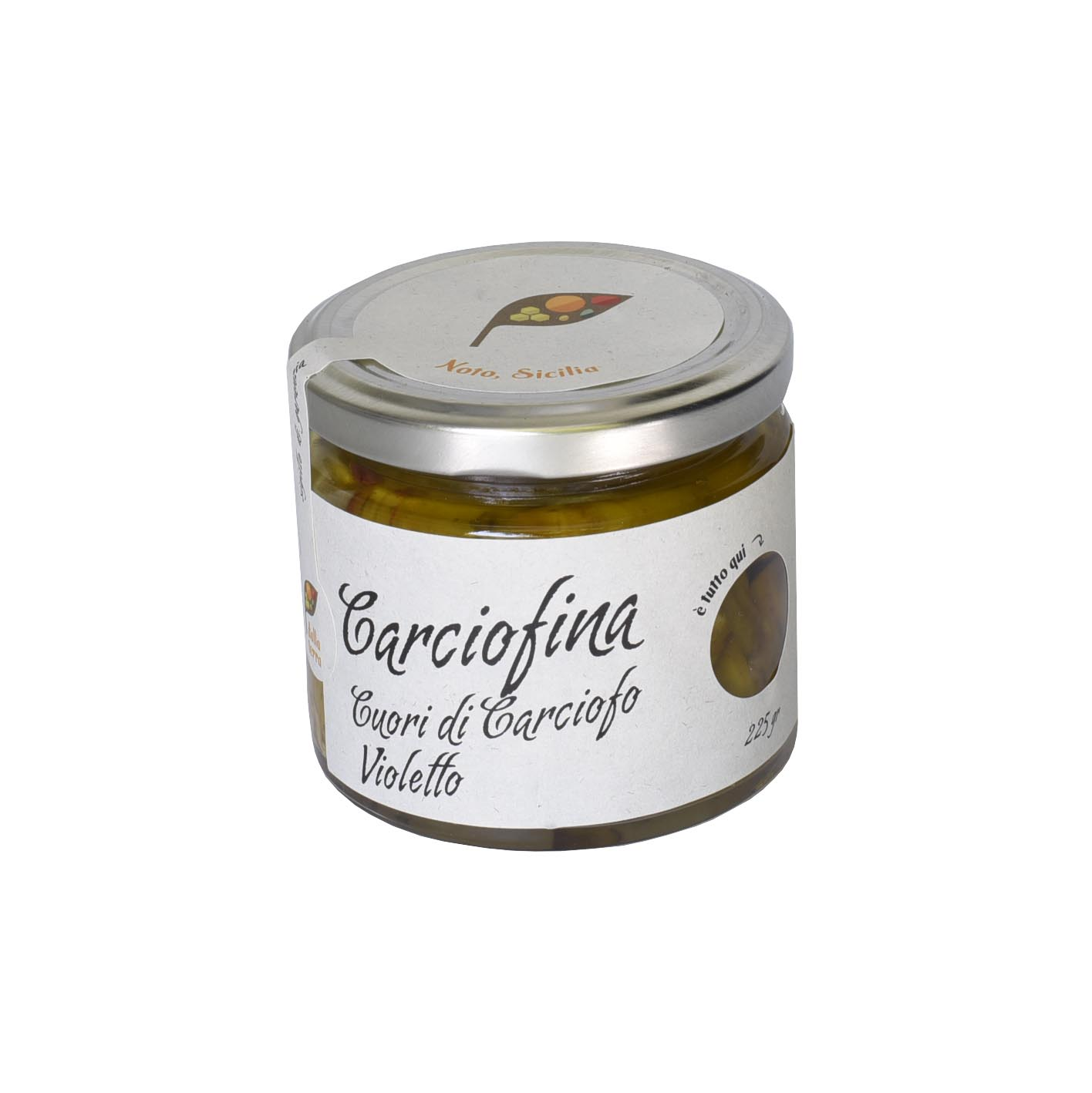 Carciofina – cuore di carciofi violetto 225 gr