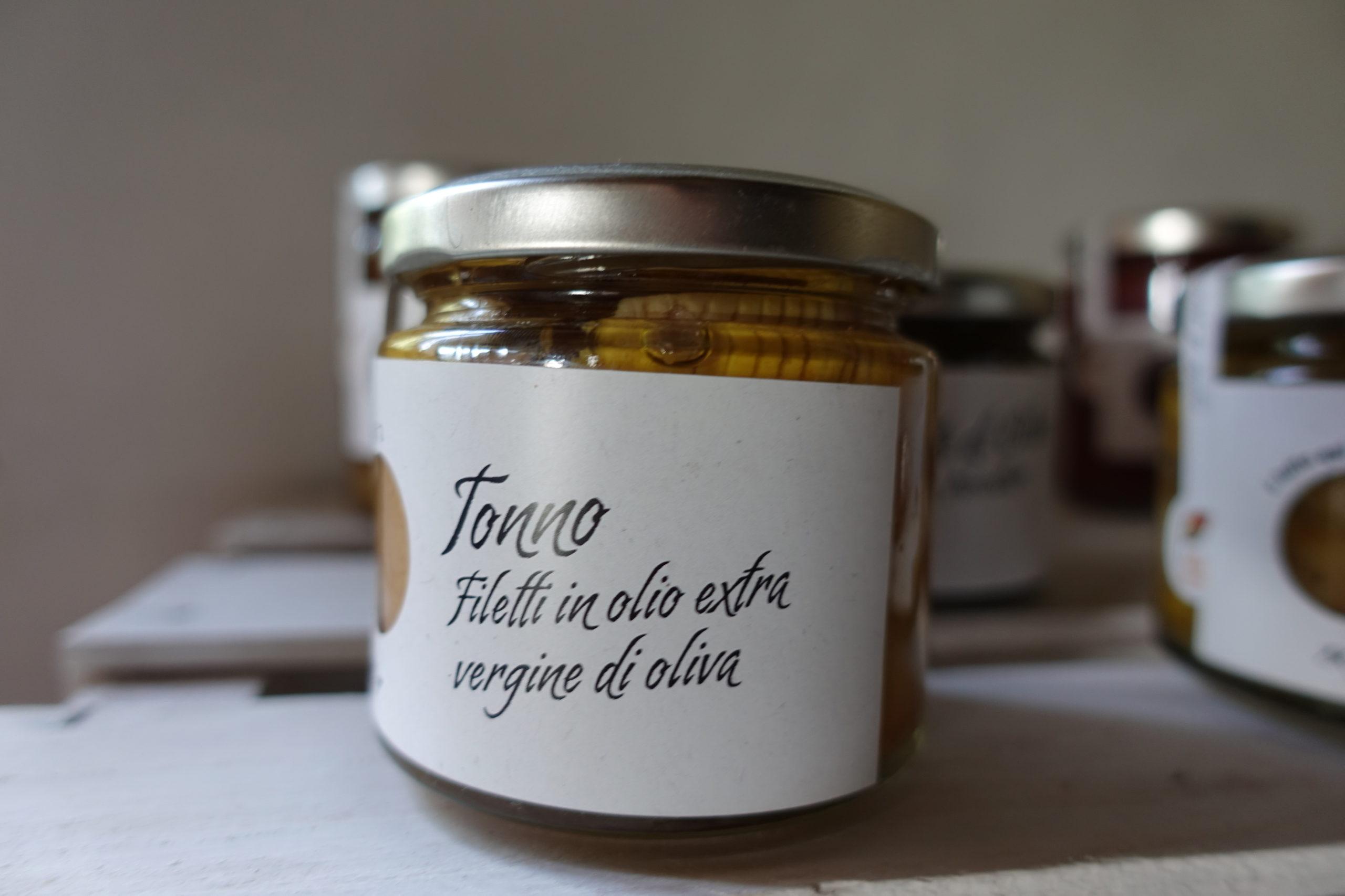 Tonno – Filetti di Tonno sott'olio di sicilia